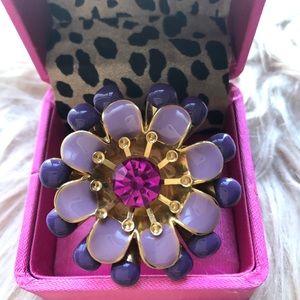 Betsey Johnson Flower Ring 🌸